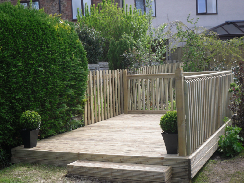 Garden decking atlas fencing for Garden decking quotes uk