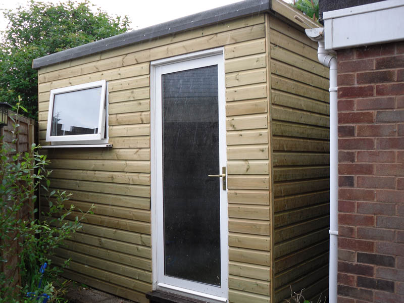 Garden Sheds Exeter timber workshops - atlas fencing