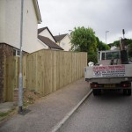 Atlas Fencing Featheredge Closeboard Fencing Exeter, Devon