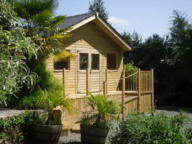 Timber Garden Offices Exeter Devon